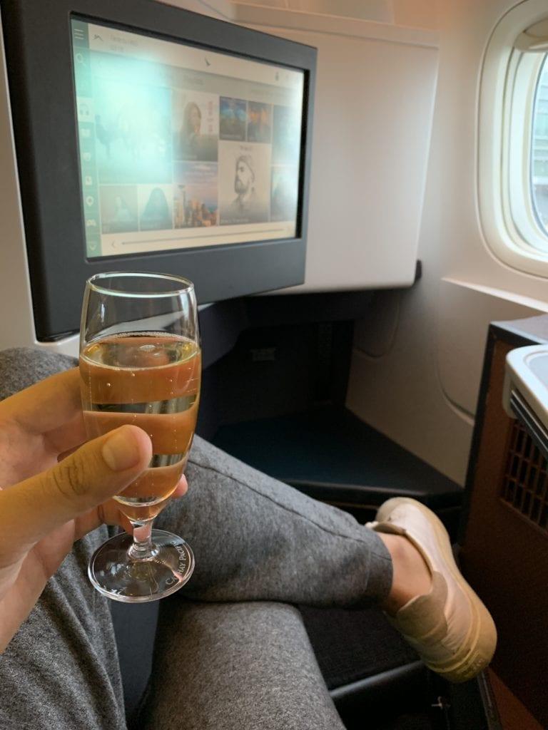 שמפנייה בביזנס - איך לקבל שדרוג