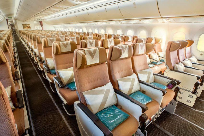טיסות באיתיחאד - מחלקת תיירים