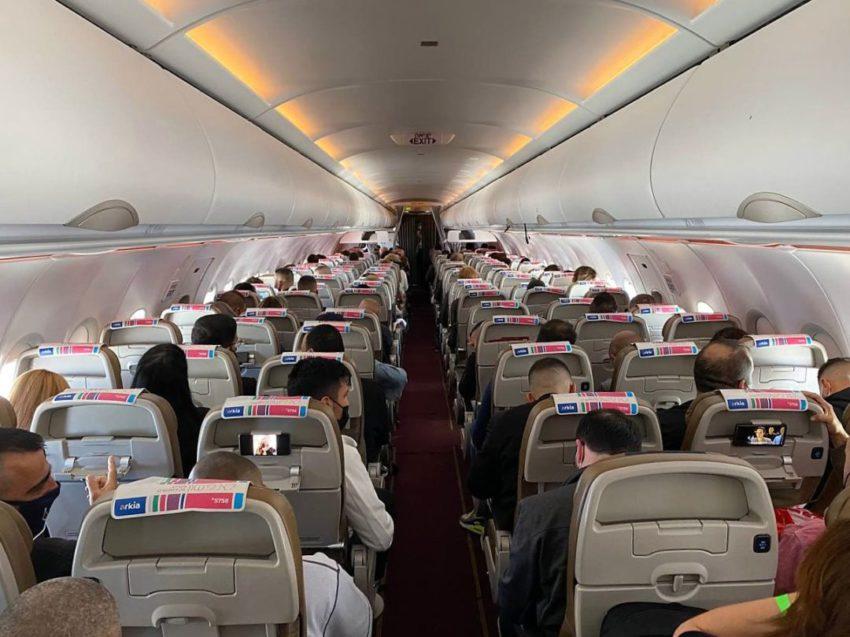 מטוס איירבאס ארקיע לדובאי