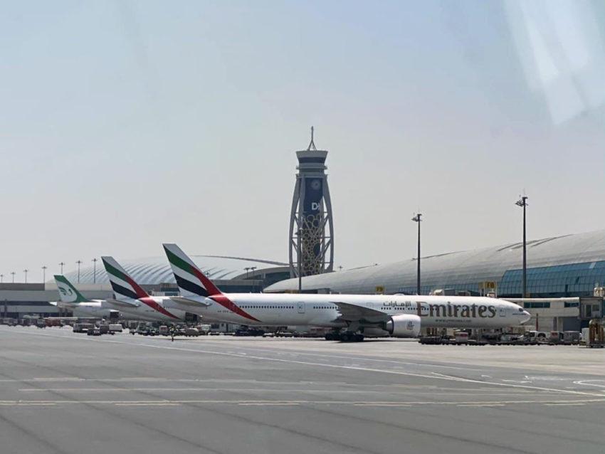 מטוסי אמירטס בדובאי