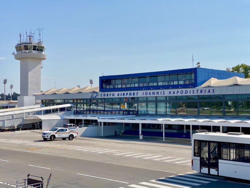 נמל התעופה קורפו