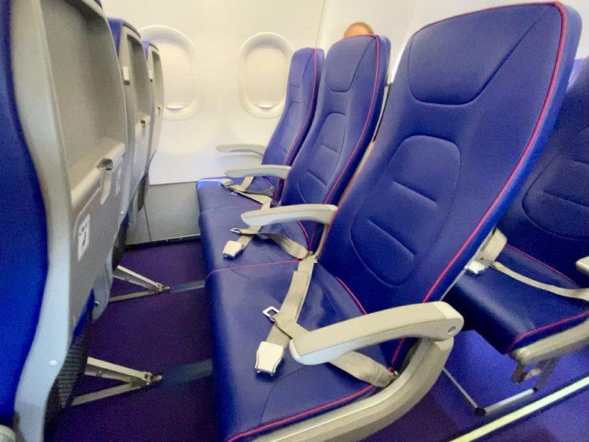 מושב במטוס וויזאייר