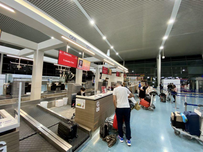 טיסת אמירטס מפוקט לדובאי