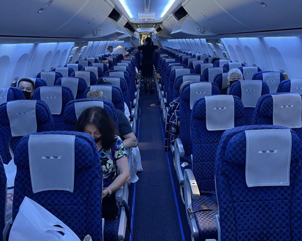 מטוס אל על באוינג 737