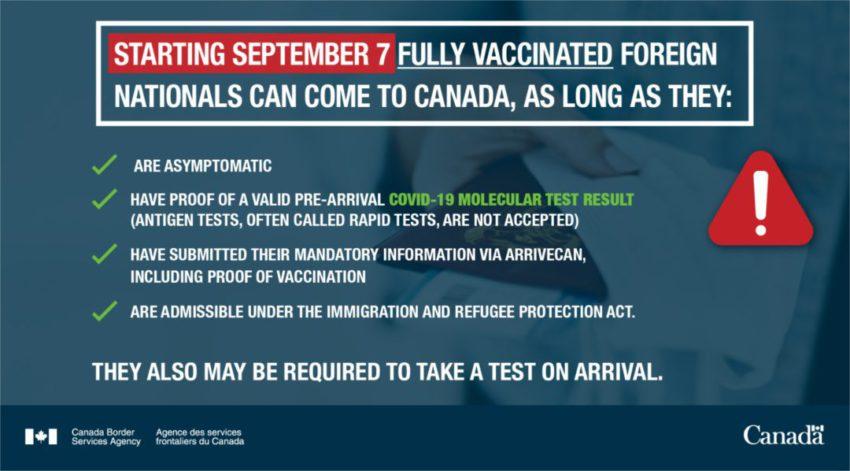 הנחיות מתוך רשות ההגירה הקנדית